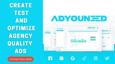 🟢 ADYOUNEED [Lifetime Deal] Create, test, and optimize agency-quality ads