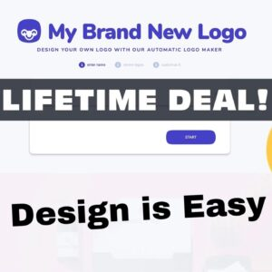 My Brand New Logo Lifetime Deal Quick Demo - Logo Design App For Pc Or Mac Laptop Computer Software