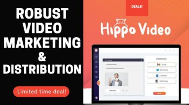🟢 Hyppo Video [Lifetime Deal] A robust video marketing, personalization and distribution platform