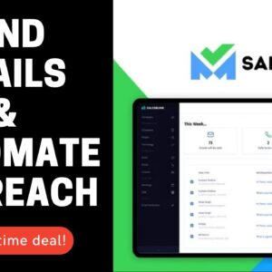 🟢 SalesBlink [Lifetime Deal] finding professional emails from domains