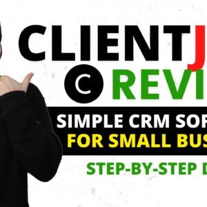 ClientJoy Review ❇️ CRM Software for Freelancers & Agencies 🙌