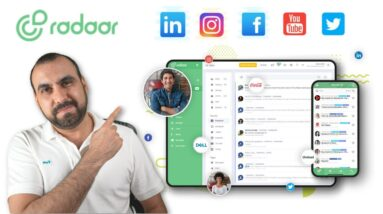 Unify all your Social Media inbox and brand mention with Radaar 📨
