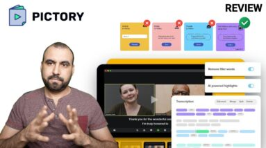 Appsumo Pictory Review 👎🏼👍🏻 Create short videos from long-form content