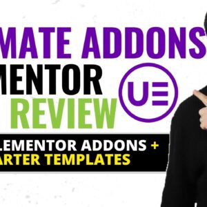 Ultimate Addons for Elementor Review ❇️  Best Elementor Addons 🔥