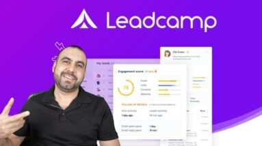 Email Tracker, CRM and Qualify leads to gain more sales with LeadCamp