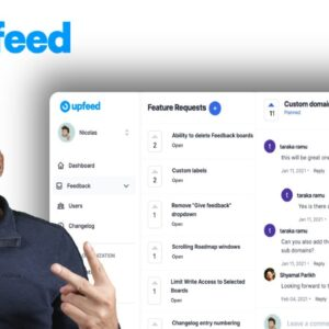 Roadmap and Changelog creator UNLIMITED Upfeed