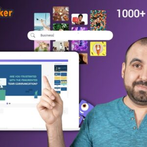 Animaker drag-and-drop video animation editor that lets you create animations for your business