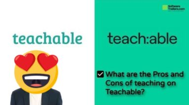 Teachable | What are the Pros and Cons of teaching on Teachable?